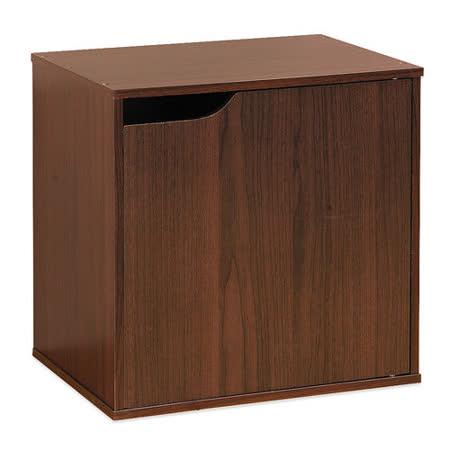 【Hopma】百搭疊疊櫃-胡桃木色