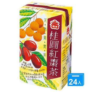 義美桂圓紅棗茶250ml*24