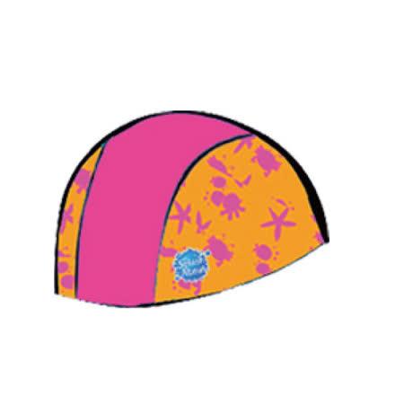 潑寶 Splash About - Swim Hat 抗UV泳帽 - 桃紅 / 水族剪影