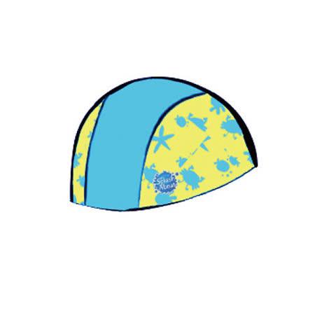 潑寶 Splash About - Swim Hat 抗UV泳帽 - 水藍 / 水族剪影