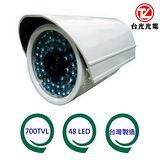 台光光電 700TVL防水夜視彩色攝影機(TBL-CA748S)