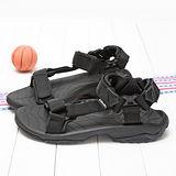 TEVA男款專業運動玩水系列經典織帶涼鞋TV1001473BLK