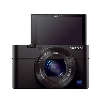 SONY RX100M3 (RX100III) 大光圈WiFi類單眼相機(公司貨)-送32G卡+原廠電池+專用電池、座充+水晶保護鏡+HDMI+清潔組+讀卡機+小腳架+保護貼+專用手工包、快門線