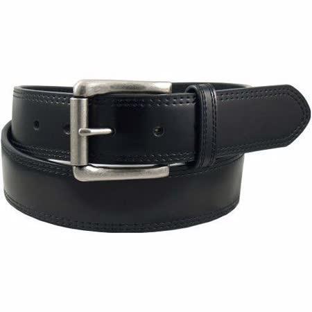 【Dickies】2014男品味黑色韁繩雙縫輥扣皮帶【預購】