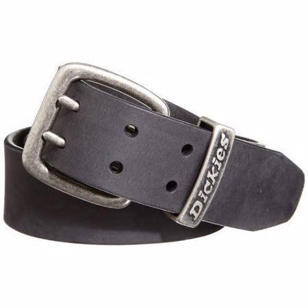 【Dickies】2014男仿古黑色雙爪鎳扣皮革皮帶【預購】