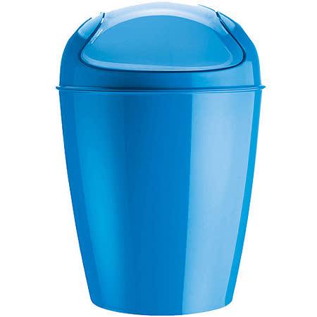 《KOZIOL》搖擺蓋垃圾桶(藍XXS)