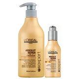 L'OREAL萊雅 極緻細胞賦活洗髮乳500ml+極緻賦活活髮素150ml