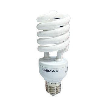★6件超值組★美克斯UNIMAX 螺旋省電燈泡-黃光(23W)