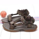 TEVA男款專業運動玩水系列經典織帶涼鞋TV1001473GOLV