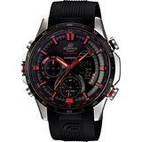 CASIO EDIFICE 霓彩時尚羅盤多功能腕錶ERA-300B-1A