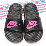 NIKE女款經典黑超輕量拖鞋E555742001
