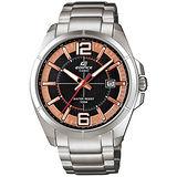CASIO EDIFICE 精彩時刻時尚腕錶(黑金/48mm) EFR-101D-1A5