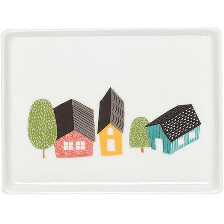 《DANICA》方瓷盤(村莊)