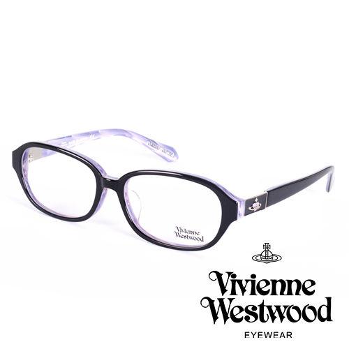 Vivienne Westwood 英國薇薇安魏斯伍德皇家貴氣英國雲彩款^(黑 淡紫^)V