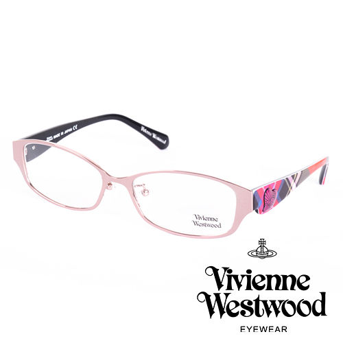 Vivienne Westwood 英國薇薇安魏斯伍德 格紋愛心土星環款^(粉紅 紅格紋^