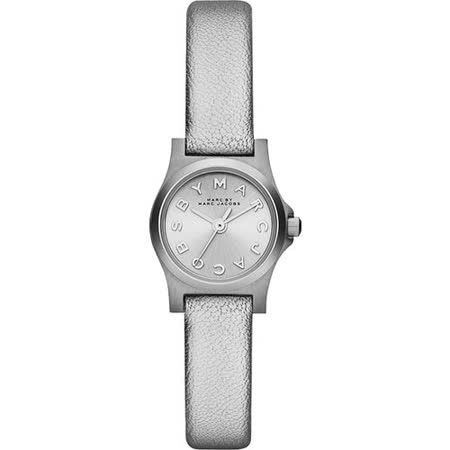 Marc Jacobs Henry 俏麗品牌女錶-銀 MBM1296