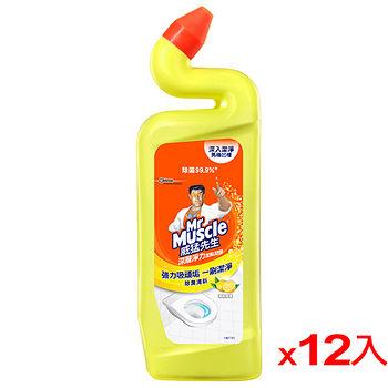 威猛先生浴廁清潔劑-清新檸檬750ml*12(箱)