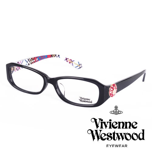 Vivienne Westwood 英國薇薇安魏斯伍德立體土星環鈕扣款^(黑 藍格紋^)V