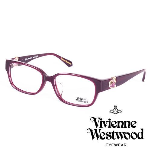 Vivienne Westwood 英國薇薇安魏斯伍德立體龐克多邊形土星款^(紫面紫log