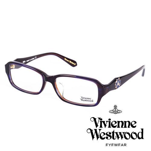 Vivienne Westwood 英國薇薇安魏斯伍德立體龐克多邊形土星款^(藍^)VW2