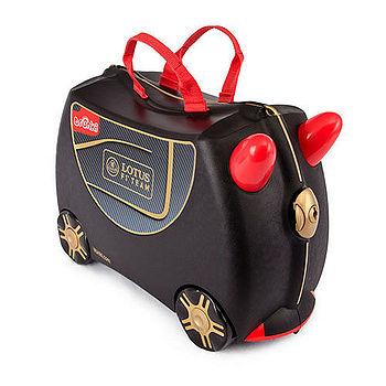 英國Trunki可乘坐兒童行李箱蓮花跑車特別款