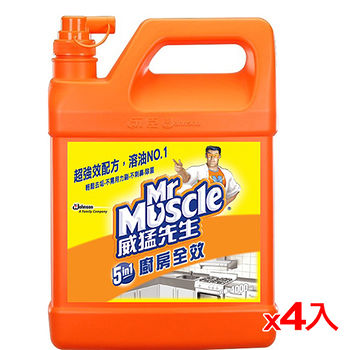 威猛先生廚房超長效清潔劑4000ml*4(箱)