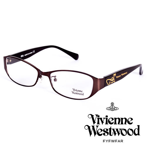 Vivienne Westwood 英國薇薇安魏斯伍德金屬惡魔 土星款^(棕^)VW277
