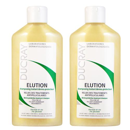 DUCRAY護蕾 控油舒敏洗髮精(基礎型)200ml (2入特惠)