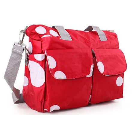 【好物推薦】gohappy【Osun】防潑水無毒超容量媽咪包、媽媽包(側背紅色腳丫款)評價如何內 湖 愛 買 餐廳
