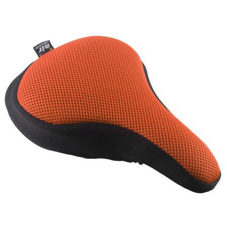 Dr. Air 登山車用氣墊座墊套(馬卡龍系列)-活力橘
