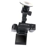 魔鷹 變形金剛 雙鏡頭 LED紅外線夜視 270度 行車紀錄器 - 2入組