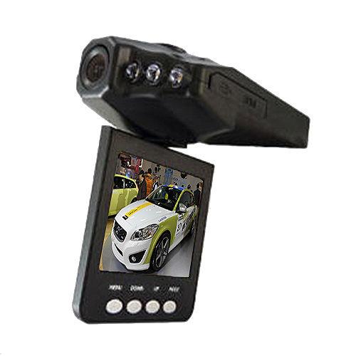 【魔鷹】270度翻轉螢幕6顆紅外夜行車紀錄器 停車視燈HD行車紀錄器 - 加送SD16G記憶卡