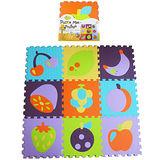【BabyTiger虎兒寶】MIT 遊戲爬行地墊-魔術方塊系列(水果拚盤)