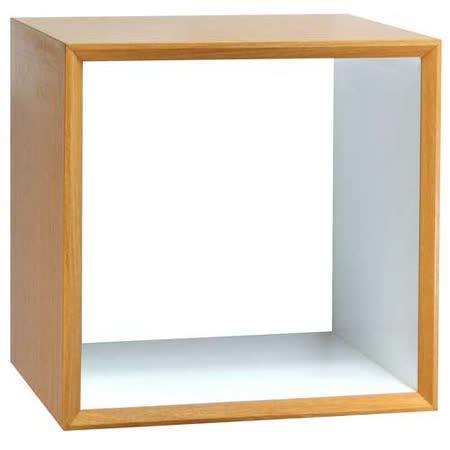 魔術方塊30系統收納櫃/鏤空櫃(原木色)