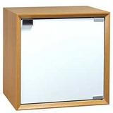 魔術方塊30系統收納櫃/木門櫃(原木色)
