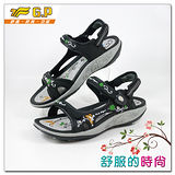 【G.P】時尚精美水鑽機能涼鞋~G9195W-10(黑色)共三色