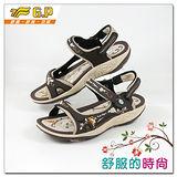 【G.P】時尚精美水鑽機能涼鞋~G9195W-30(咖啡色)共三色