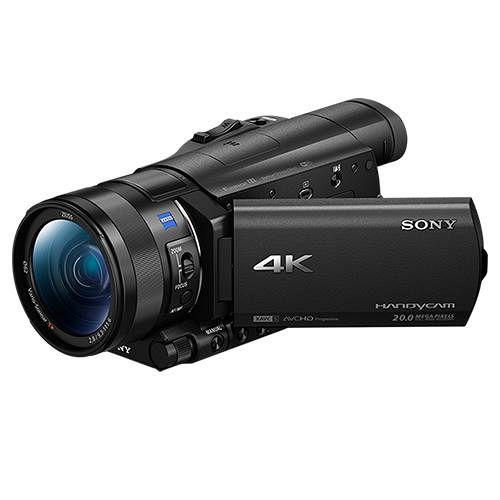 SONY FDR-AX100 4K高畫質攝影機(公司貨)-送64G 90mb/s記憶卡+FV100高容量鋰電池+專用座充(附車充)+吹球拭鏡筆清潔組+多合一讀卡機