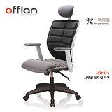 【Offian】韓國AIRIN Speed專利辦公椅(可拆洗)-魔力黑