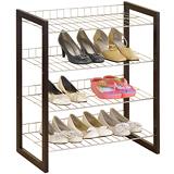 【海克力士】複合式四層實木鞋架