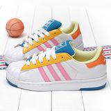 Adidas女款愛迪達玩色系運動休閒鞋DD65524