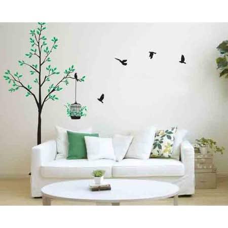 【PS Mall】特大可移動創意裝飾組合牆面貼紙 壁貼 (J1717) AY-811