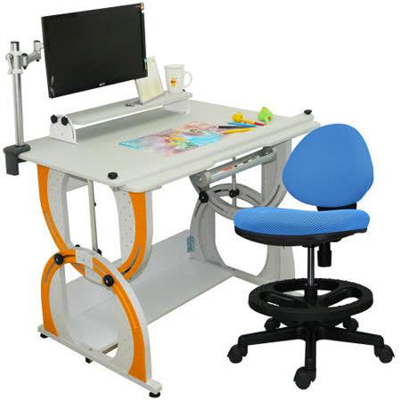 HAPPYHOME 愛德華兒童成長書桌椅組DE-100A/C/M2/12色可選