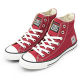 女 VISION STREET WEAR 經典帆布鞋 棗紅 V22008