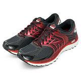 男 Brooks 專業慢跑鞋 Glycerin 11  黑紅 BK1101431D061