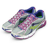 【SAUCONY】女--專業慢跑鞋 IGNITION 4 銀紫 15169-5