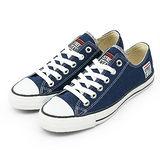 女 VISION STREET WEAR 經典帆布鞋 深藍 V22007