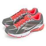 【SAUCONY】女--專業慢跑鞋 GRID IGNITION 4 灰螢橘 15169-3