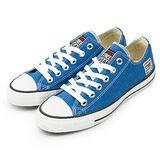 女 VISION STREET WEAR 經典帆布鞋 藍 V22011