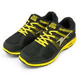 男【ARNOR】慢跑鞋 MIX LAYER--黑黃--32104